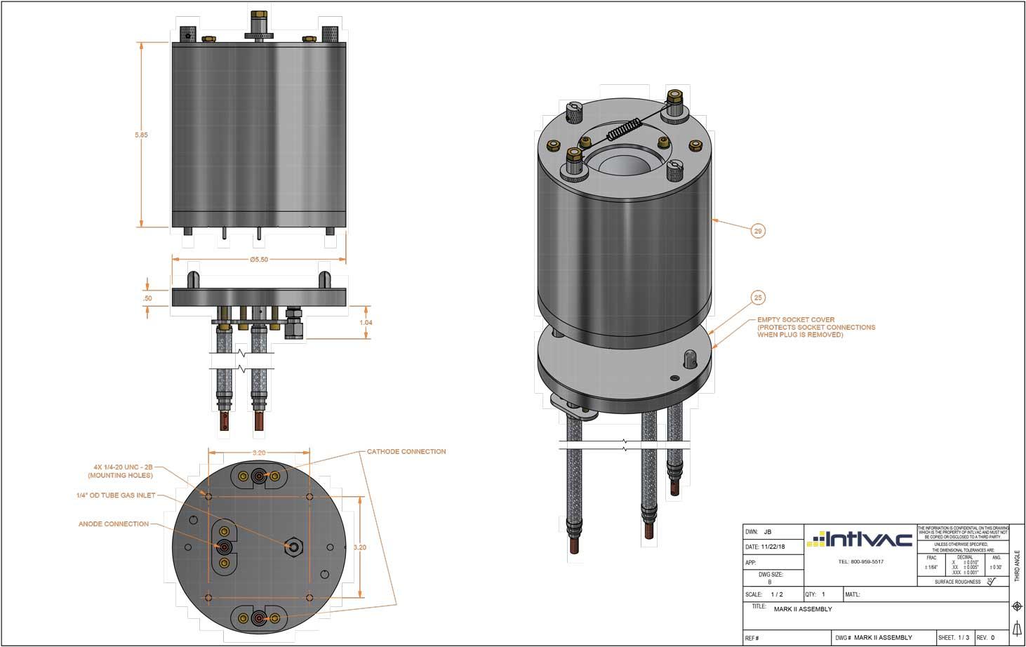 Intlvac Thin Film Corporation > Ion Source Parts > Parts